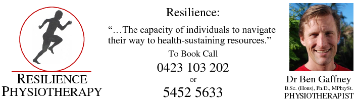 Dr Ben Gaffney – Resilience Physiotherapy Buddina Sunshine Coast provides effective treatment